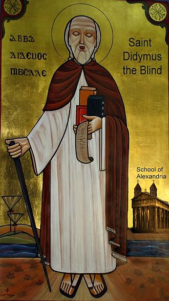 Didymus the Blind - Saint Didymus the Blind