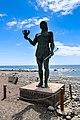Die Statue von Hautacuperche auf La Gomera, Spanien (48293829147).jpg