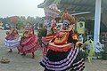 Different forms of theyyam an artform in kerala india.jpg