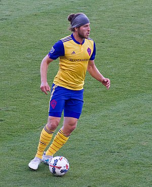 Dillon Powers - Dillon Powers playing for Colorado Rapids in 2017