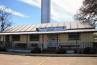 Dime Box, Texas - Dime Box Heritage Society Museum