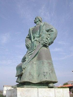 Diogo Gomes - Statue of Diogo Gomes, Praia, Cape Verde.