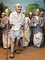 Diorama of Mahatma Gandhi Leading the Dandi March, 1930 - Gandhi Smriti - New Delhi - India (12771357234).jpg