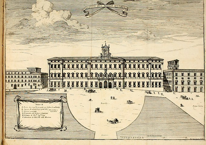Discorso del cavalier Carlo Fontana sopra il Monte Citatorio situato nel Campo Martio, ed altre cose ad esso appartenenti, con disegni tanto degl' antichi, quanto de' moderni edificii della nuova (14591966830)