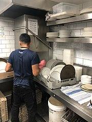 Dishwasher professional on the job (November 2018).jpg