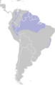 Distribution.white.crowned.Manakin.png