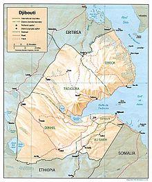 Outline Of Djibouti Wikipedia - Republic of djibouti map