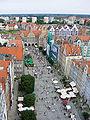 Dlugi targ gdansk widok z wiezy ratusza.jpg