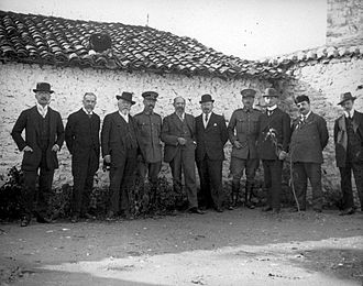 International Control Commission (Albania) - The Commission with some Dutch officers