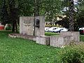 Dolny Kubin Kohutov sad Pomnik J Matuska-1.JPG