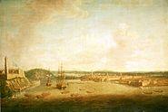 Dominic Serres the Elder - The Capture of Havana, 1762, Taking the Town, 14 August