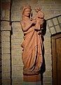 Dominikustsjerke, Ljouwert, terrakotta portaalbyld Marije.jpg