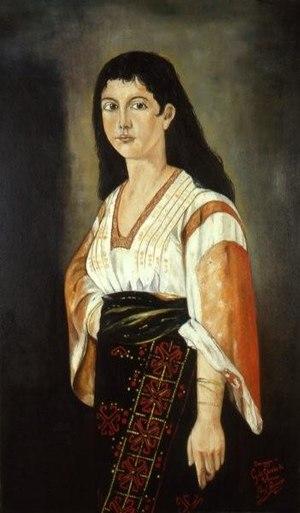 Giacomo Di Chirico - Image: Donna lucana