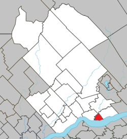 Location within Portneuf RCM