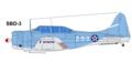 Douglas SBD-3 Dauntless USN (Late 1941 to December 23 1941) 2-S-3.tif