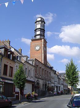 Doullens - Le beffroi.JPG