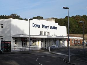 Dover Priory railway station - The station entrance