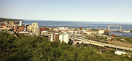 Downtown Duluth and shoreline 2012.jpg