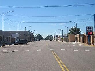 Lakin, Kansas - Downtown Lakin (2010)