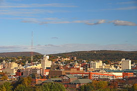 Skyline of (Downtown) Scranton