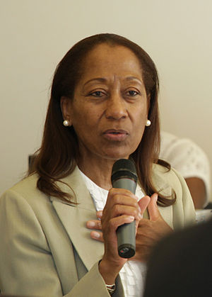 Paulette Bethel - Paulette Bethel at the United Nations Economic and Social Council Annual Ministerial Review on Education in 2011