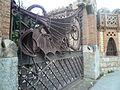 Drac i porta del Jardí de les Hespèrides P1440892.JPG