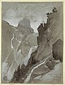 Drawing, Vernal Falls, Yosemite, 1904 (CH 18189963).jpg