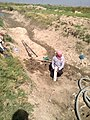 Drilling a hand dug well inside the river 07.jpg