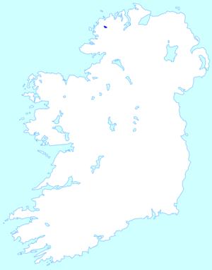 Dunlewey Lough - Image: Dunleweyloughmap