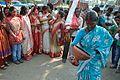 Durga Idol Immersion Procession - Baja Kadamtala Ghat - Kolkata 2012-10-24 1390.JPG