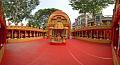 Durga Puja Pandal Interior - Biswamilani Club - Padmapukur Water Treatment Plant Road - Howrah 2015-10-20 6048-6069.tif