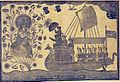 Durga with Ganesha appear to travellers in a boat (6125147444).jpg