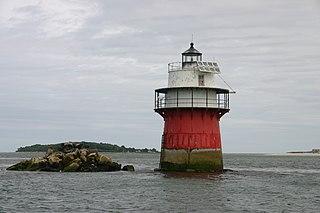Duxbury Pier Light lighthouse in Massachusetts, United States