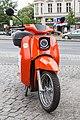 E-Schwalbe am Mehringamm in Berlin.jpg