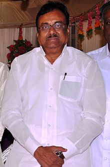 E. V. K. S. Elangovan at Marriage Function 12.jpg