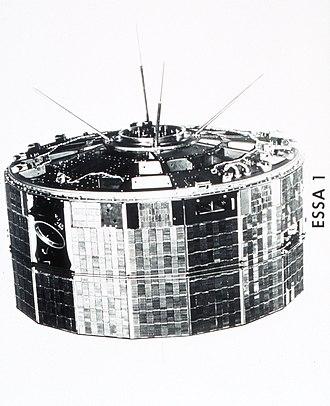 Television Infrared Observation Satellite - Image: ESSA I Spac 0020