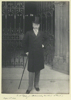 Edward Tennyson Reed British caricaturist and cartoonist
