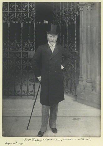 Edward Tennyson Reed - E T Reed by Sir John Benjamin Stone, 1899