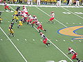 Eagles on offense at EWU at Cal 2009-09-12 11.JPG