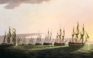 East Indiaman General Goddard with the Dutch Fleet.jpg