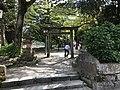 East torii of Yasaka Shrine in Tsuwano, Kanoashi, Shimane.jpg