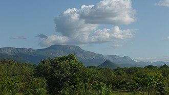 Eastern Highlands - Eastern Highlands looking south towards Nyanga.