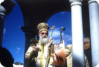 Archbishop Michael of America American Greek Orthodox primate