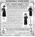 Eaton's advertisement January 1919.JPG