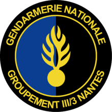 image illustrative de l'article Groupement III/3 de Gendarmerie mobile