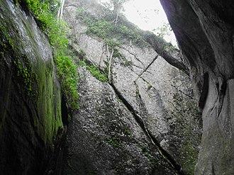 Edakkal Caves - Image: Edakkal caves