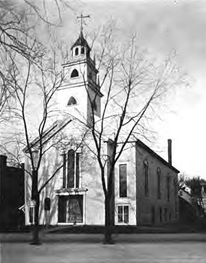 Mary Baker Eddy - The Congregational Church in Tilton, New Hampshire, which Eddy attended