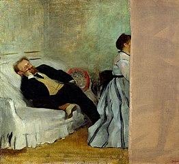 Édouard Manet et sa femme