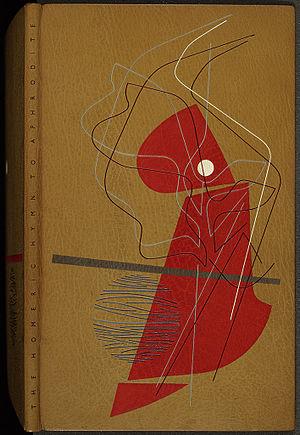 Golden Cockerel Press - Cover of The Homeric Hymn to Aphrodite by F. L. Lucas (Golden Cockerel Press, 1948); an Edgar Mansfield binding