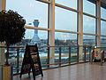 EdinburghAirportViewOfControlTowerFromTerminalBuilding March2006.jpg